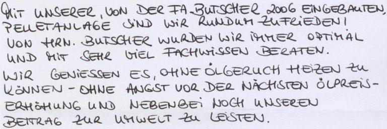 Signatur - Wetzstein