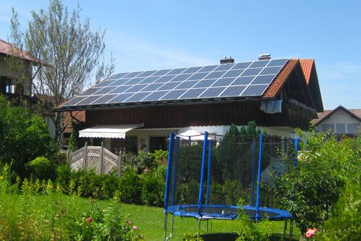 Strom aus Sonne
