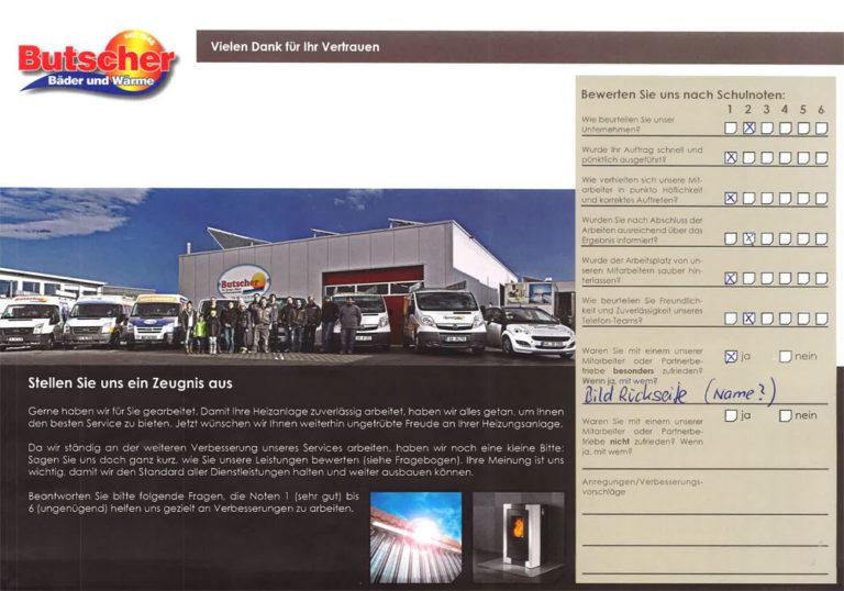 Kundenzeugnis - Familie Schafroth