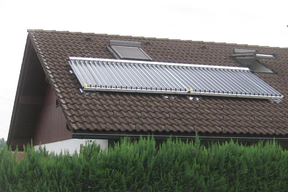 Die neue Solaranlage
